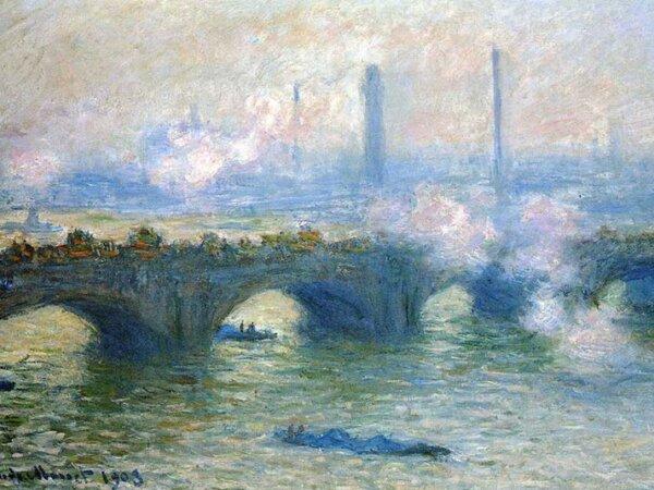 image آثار نقاشی کلود مونه نقاش فرانسوی