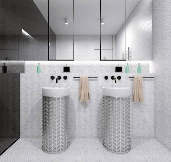 image مدل های جدید روشویی سرویس بهداشتی مدرن