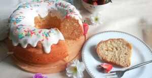 image آموزش پخت کیک ساده در خانه