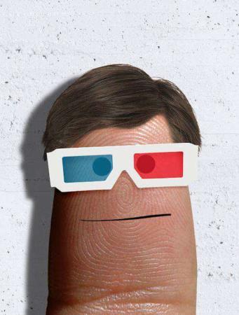 image تصاویر جالب طراحی بر روی انگشتان و ناخن های دست
