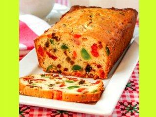 image آموزش پخت کیک با میوه و بدون شکر
