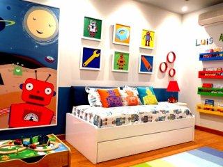 image چیدمان اتاق کودک با استفاده از اصول روانشناسی