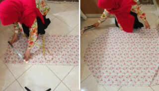 image آموزش دوخت چادر نماز آستین دار همراه با الگو