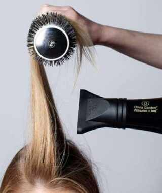 image چطور مو را سشوار بکشید تا باعث ریزش مو نشود